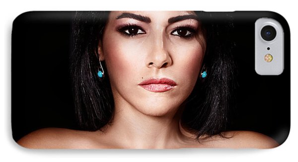 Gorgeous Woman Portrait IPhone Case