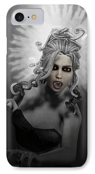 Gorgon IPhone 7 Case by Joaquin Abella