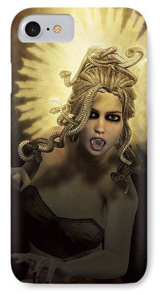 Gorgon Medusa IPhone Case by Joaquin Abella