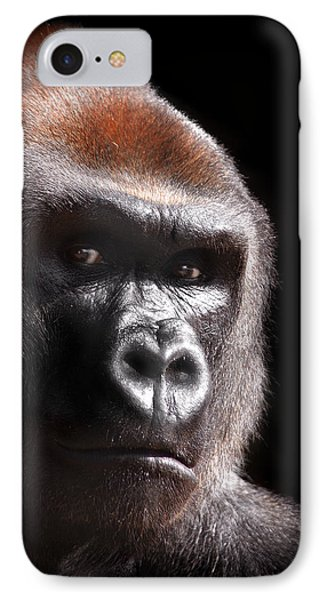 Gorilla ... Kouillou IPhone 7 Case by Stephie Butler