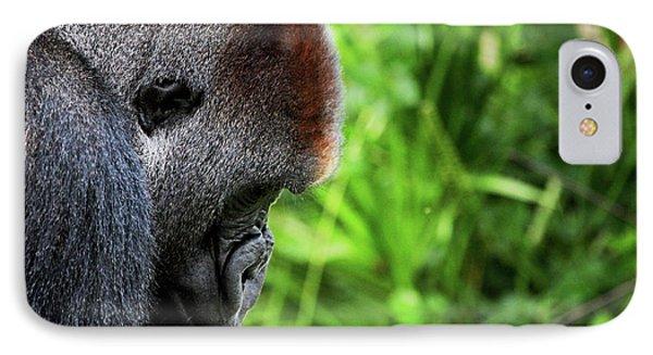 Gorilla Portrait Phone Case by Dan Pearce