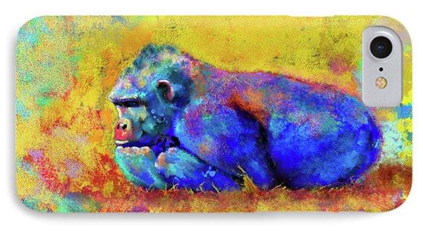 Gorilla IPhone Case by Test