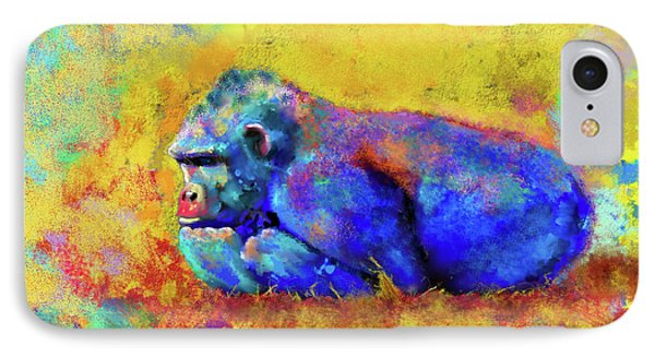 IPhone Case featuring the photograph Gorilla by Test