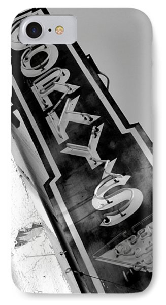Gorky's Cafe IPhone Case by Jeff Lowe