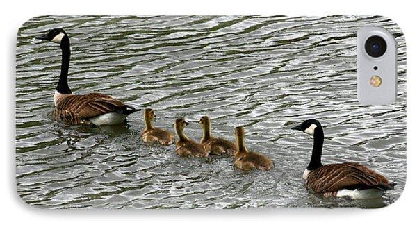 Got All Your Ducks In A Row Phone Case by David Dunham