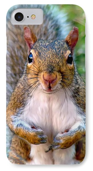Got Any Peanuts Phone Case by Sue Melvin