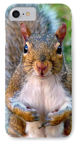IPhone Case featuring the photograph Got Any Peanuts by Sue Melvin
