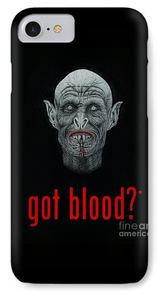 Got Blood? IPhone Case by Wave