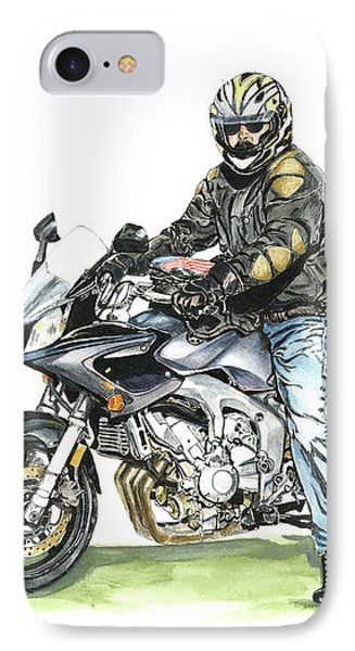 Got To Ride IPhone Case by Shari Nees