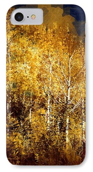 Gothic Aspen Trees IPhone Case