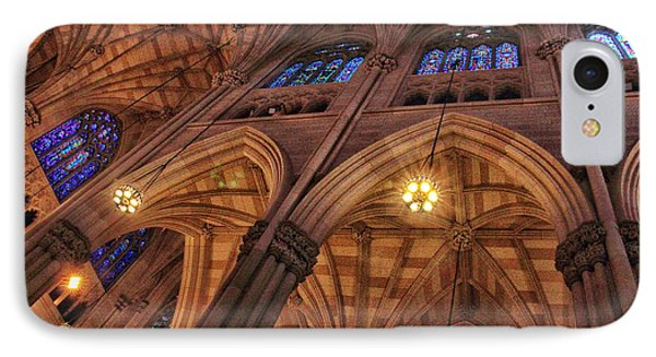 Gothic Ceiling IPhone Case by Jessica Jenney