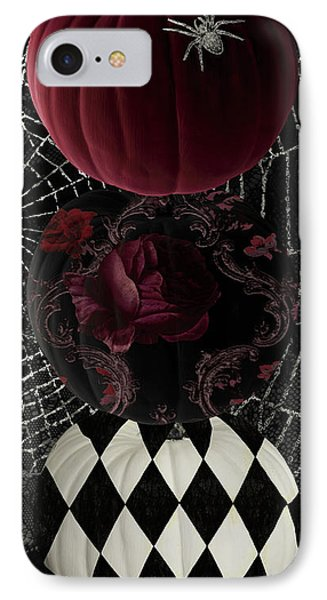 Gothic Halloween Phone Case by Mindy Sommers