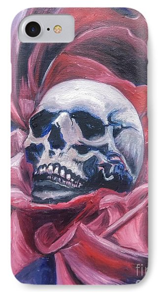 IPhone Case featuring the painting Gothic Romance by Isabella F Abbie Shores FRSA
