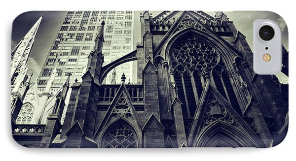 IPhone Case featuring the photograph Gothic Perspectives by Jessica Jenney