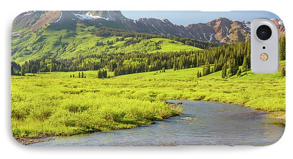 Gothic Valley - Early Evening IPhone Case by Eric Glaser