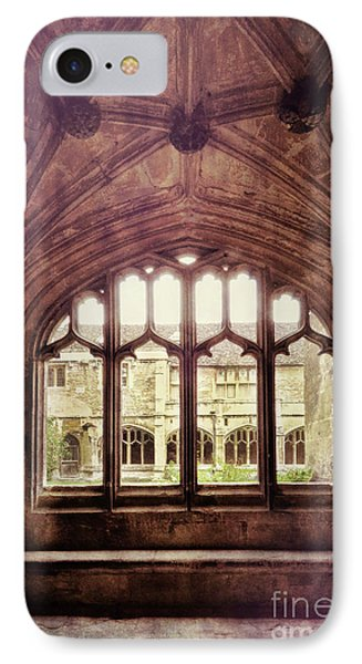 IPhone Case featuring the photograph Gothic Window by Jill Battaglia