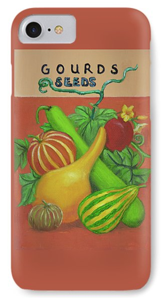 Gourd Seed Packet Orange IPhone Case