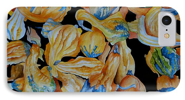 Gourds Galore Phone Case by Rosie Brown