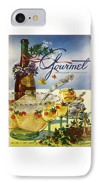 Gourmet Cover Featuring A Bowl And Glasses IPhone Case