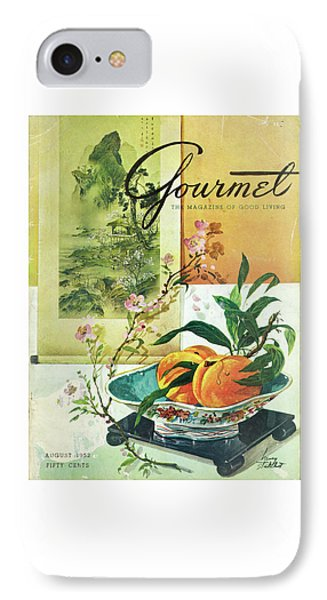 Gourmet Cover Featuring A Bowl Of Peaches IPhone Case