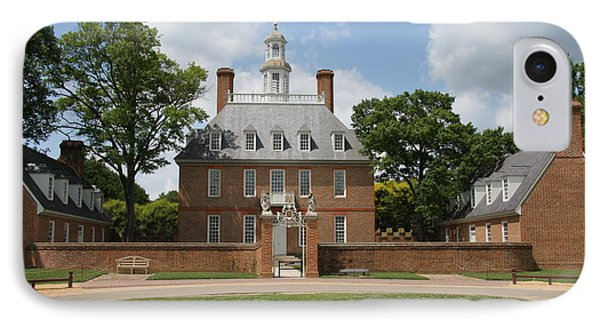 Governers Palace - Williamsburg Va IPhone Case by Christiane Schulze Art And Photography