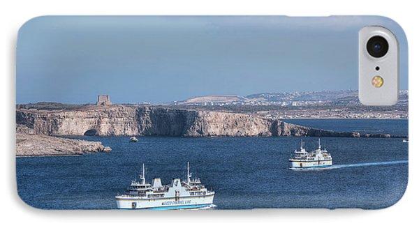 Gozo Ferries - Malta IPhone Case by Joana Kruse