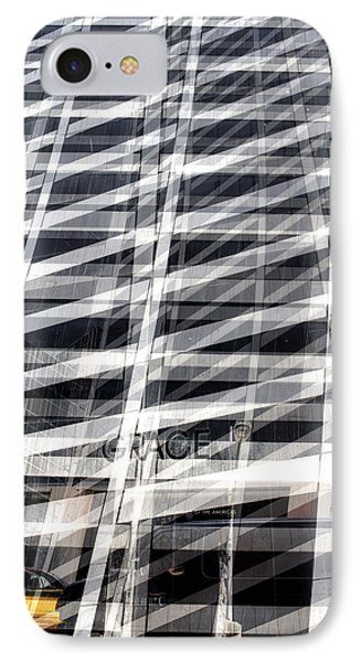 Grace Building Collage 2 IPhone 7 Case by Dave Beckerman