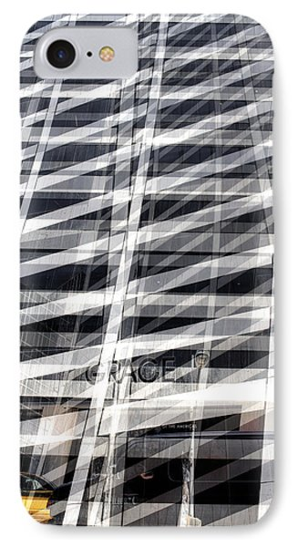 Grace Building Collage 2 IPhone Case