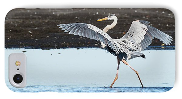 Grace In Motion IPhone Case by Dawn Currie