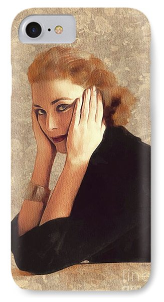 Grace Kelly iPhone 7 Case - Grace Kelly, Hollywood Legend by Mary Bassett