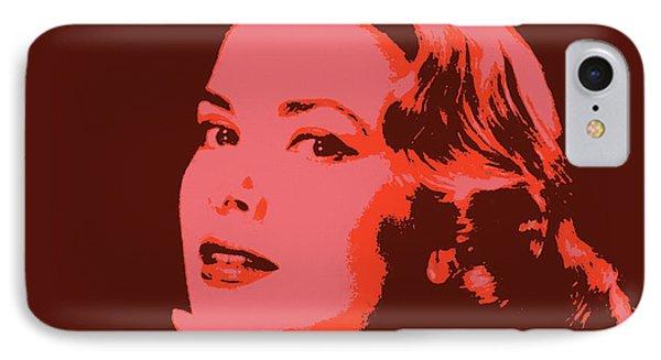 Grace Kelly Pop Art IPhone Case by Dan Sproul