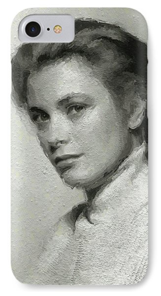 Grace Kelly, Vintage Actress IPhone 7 Case
