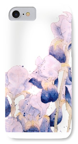 Graceful Iris IPhone Case by Gail Maguire