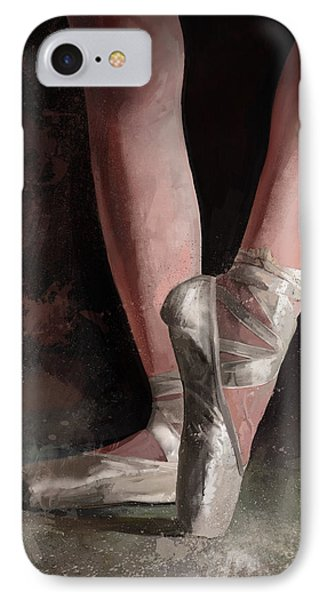 IPhone Case featuring the digital art Graceful Slippers by Steve Goad