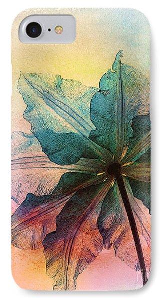 IPhone Case featuring the digital art Gracefulness by Klara Acel