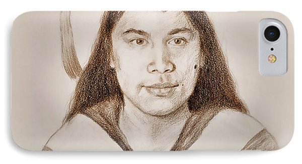 Graduation Portrait Of A Filipina Beauty  IPhone Case by Jim Fitzpatrick