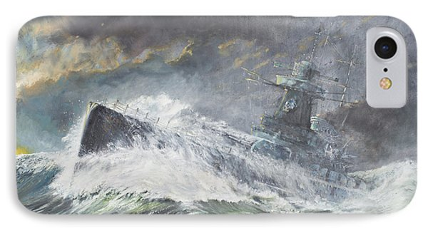 Graf Spee Enters The Indian Ocean IPhone Case