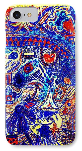 Graffiti Doodle  Phone Case by Sheri Buchheit