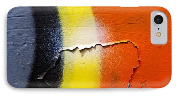 Graffiti Texture Iv Phone Case by Ray Laskowitz - Printscapes