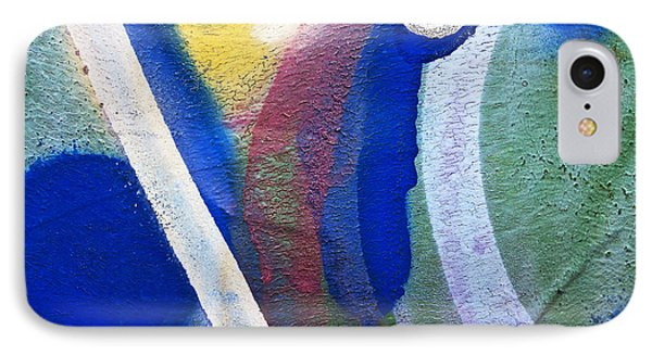 Graffiti Texture V Phone Case by Ray Laskowitz - Printscapes