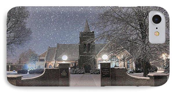 Graham Presbyterian Church IPhone Case by Benanne Stiens