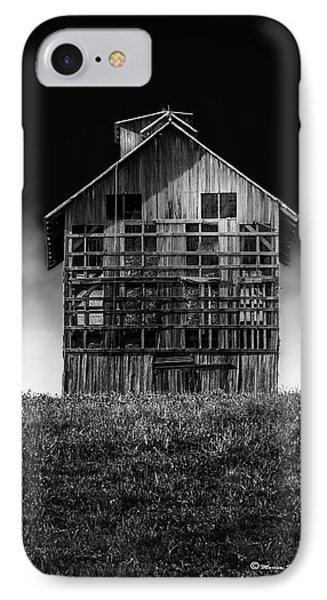 Grain Dryer Bw IPhone Case by Marvin Spates