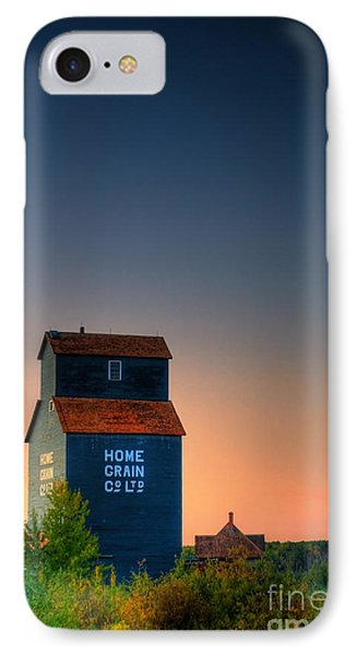 Grain Elevator IPhone Case by Ian MacDonald