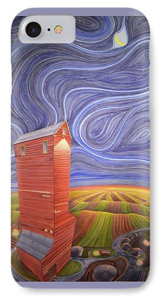 Grain Tower IIi IPhone Case by Scott Kirby