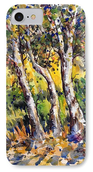 Grainery Poplars IPhone Case