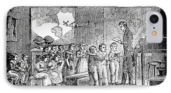 Grammar School, 1790s IPhone Case by Granger