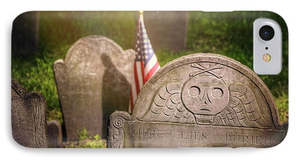 Granary Burying Ground Boston  IPhone Case