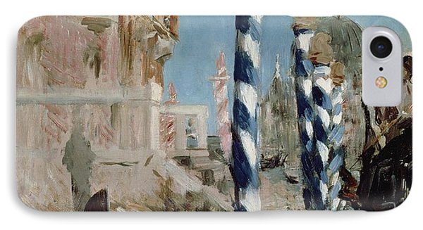 Grand Canal IPhone Case by Edouard Manet