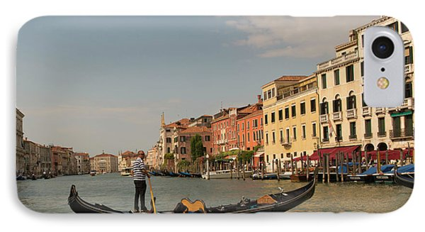 Grand Canal Gondola IPhone Case by Loriannah Hespe