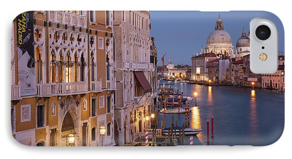 IPhone Case featuring the photograph Grand Canal Twilight by Brian Jannsen